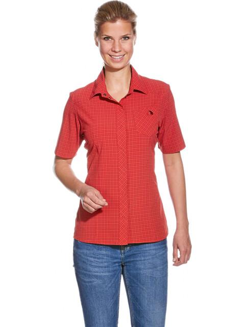 Tatonka Jonne t-shirt Dames rood